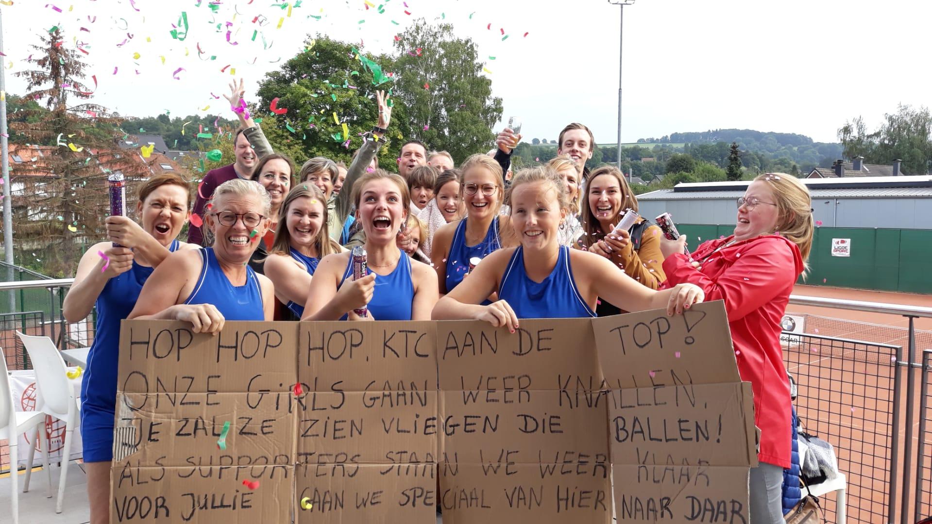 Dames 95- winst kwart finale Luik